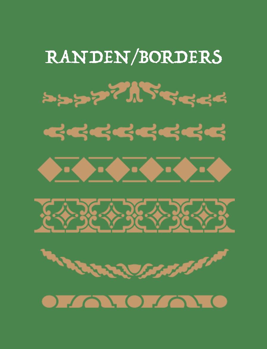 Randen/Borders